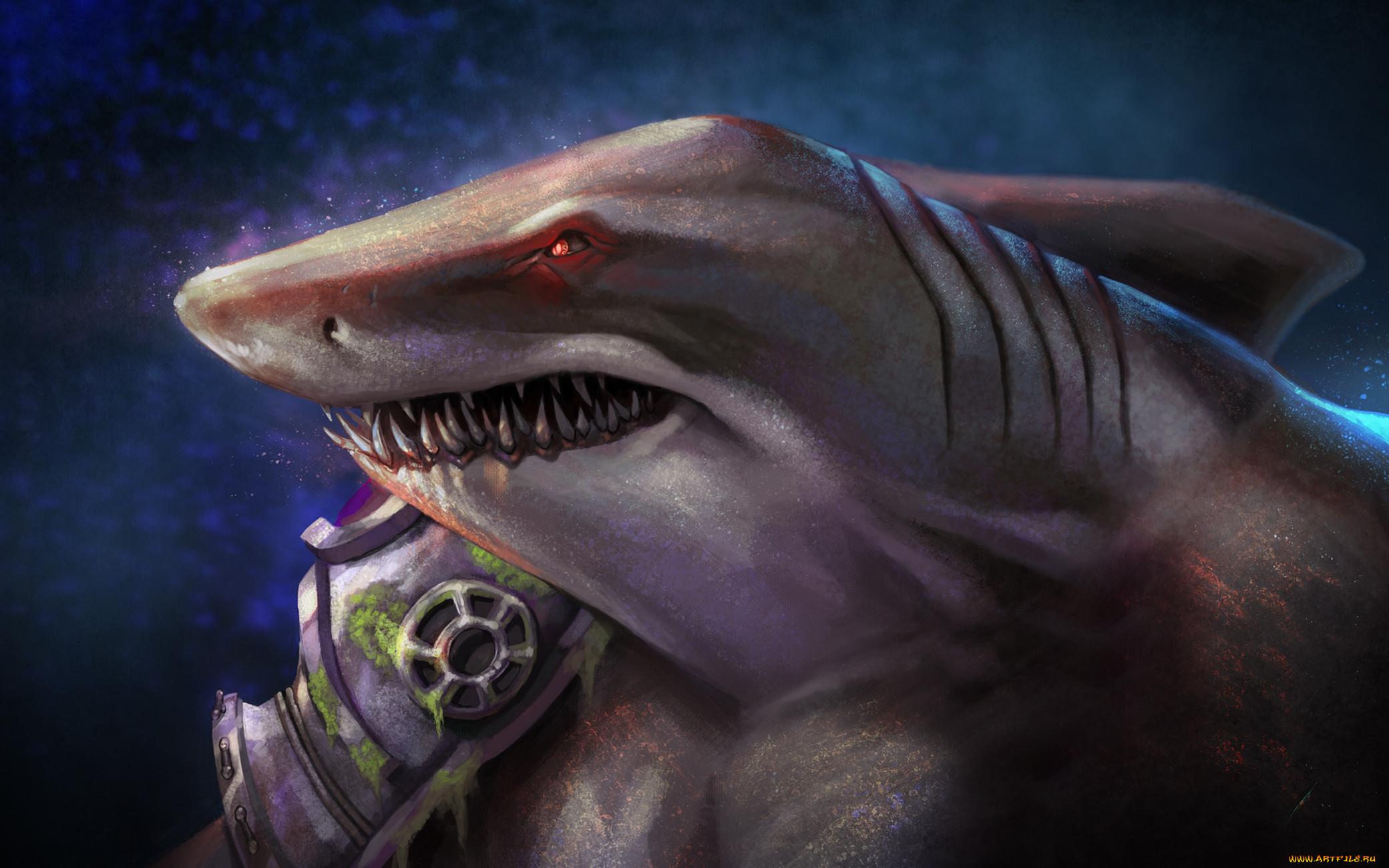 Акулы мутанты картинки